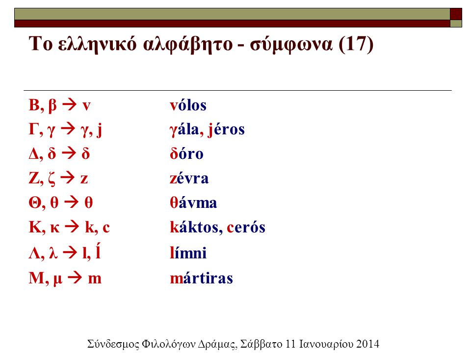 Το ελληνικό αλφάβητο - σύμφωνα (17)