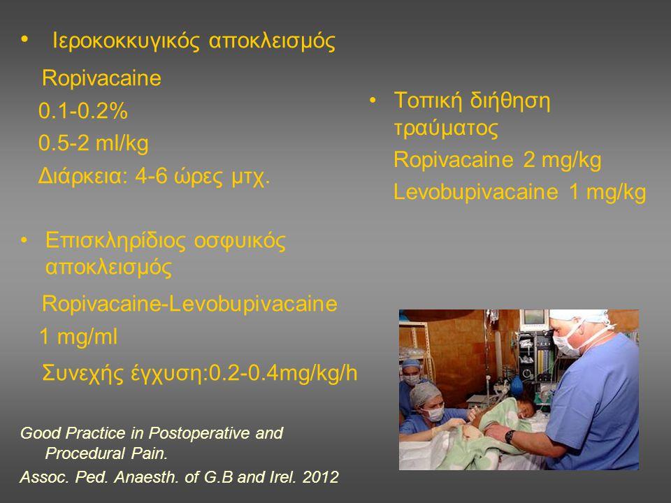 Ιεροκοκκυγικός αποκλεισμός Ropivacaine