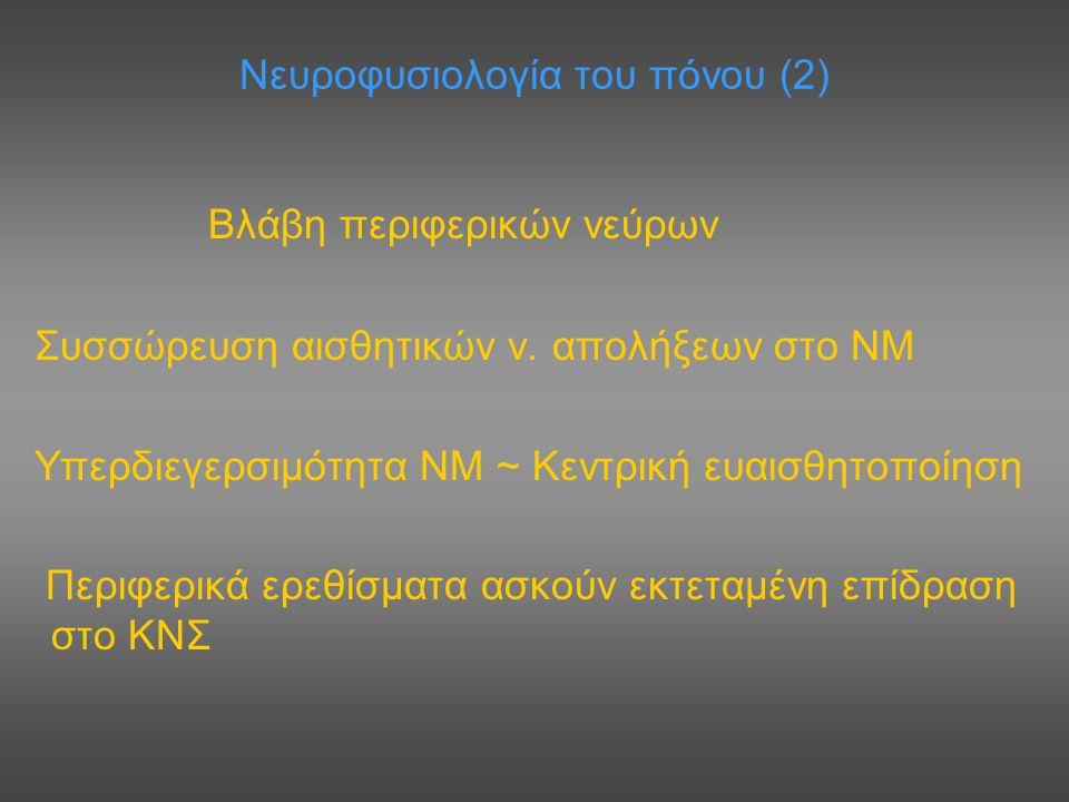 Νευροφυσιολογία του πόνου (2)