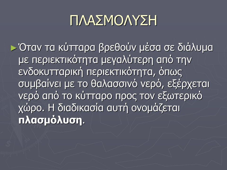 ΠΛΑΣΜΟΛΥΣΗ