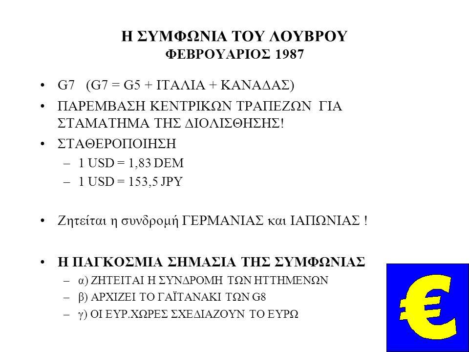 Η ΣΥΜΦΩΝΙΑ ΤΟΥ ΛΟΥΒΡΟΥ ΦΕΒΡΟΥΑΡΙΟΣ 1987