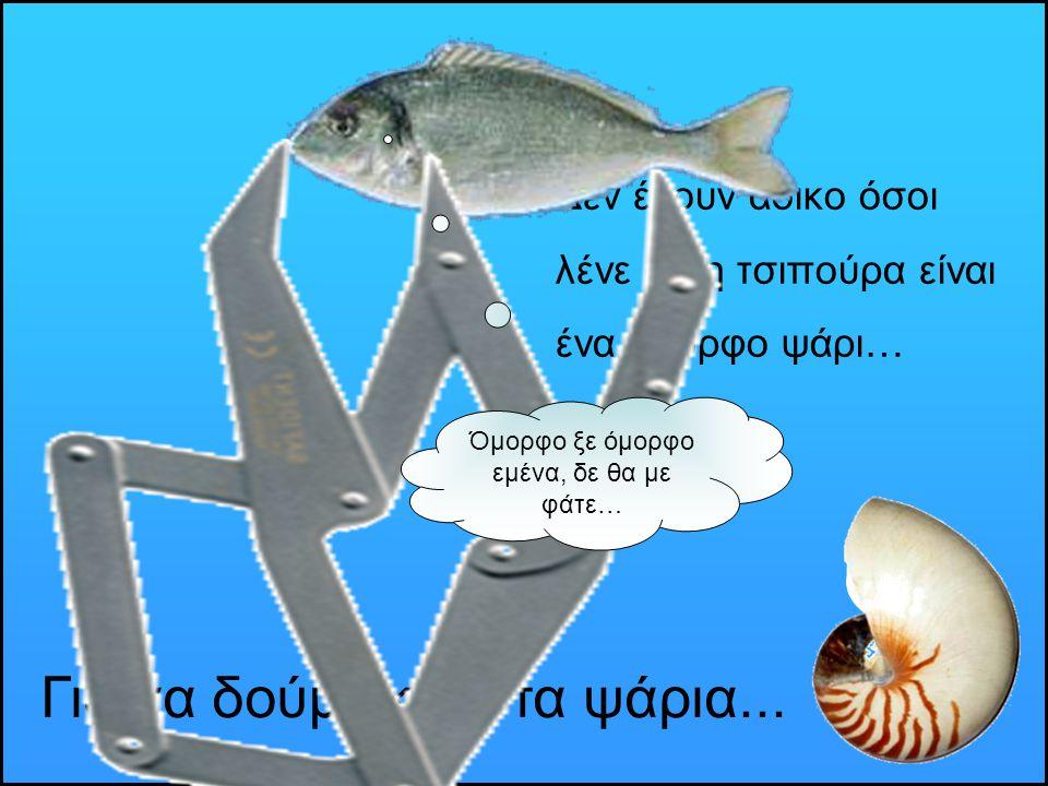 Για να δούμε και στα ψάρια...