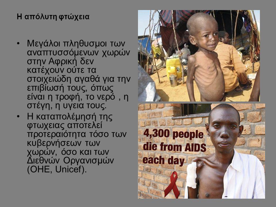 Η απόλυτη φτώχεια