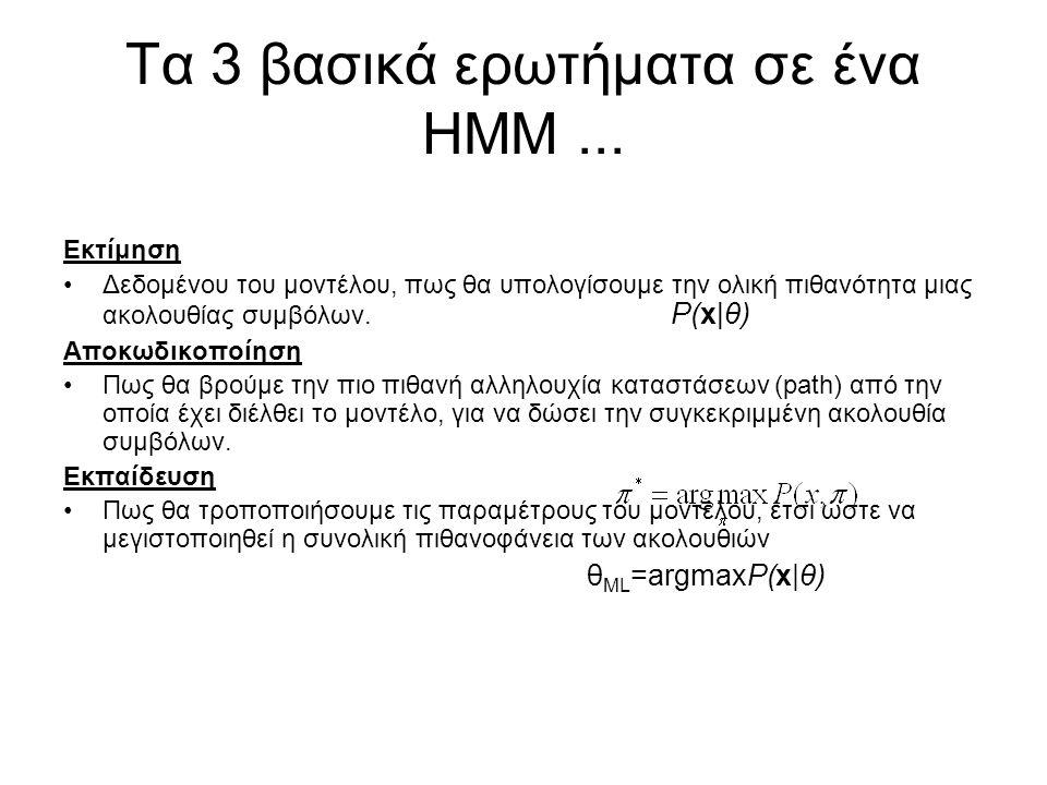 Τα 3 βασικά ερωτήματα σε ένα ΗΜΜ ...