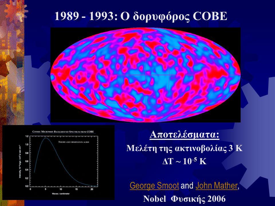Μελέτη της ακτινοβολίας 3 Κ