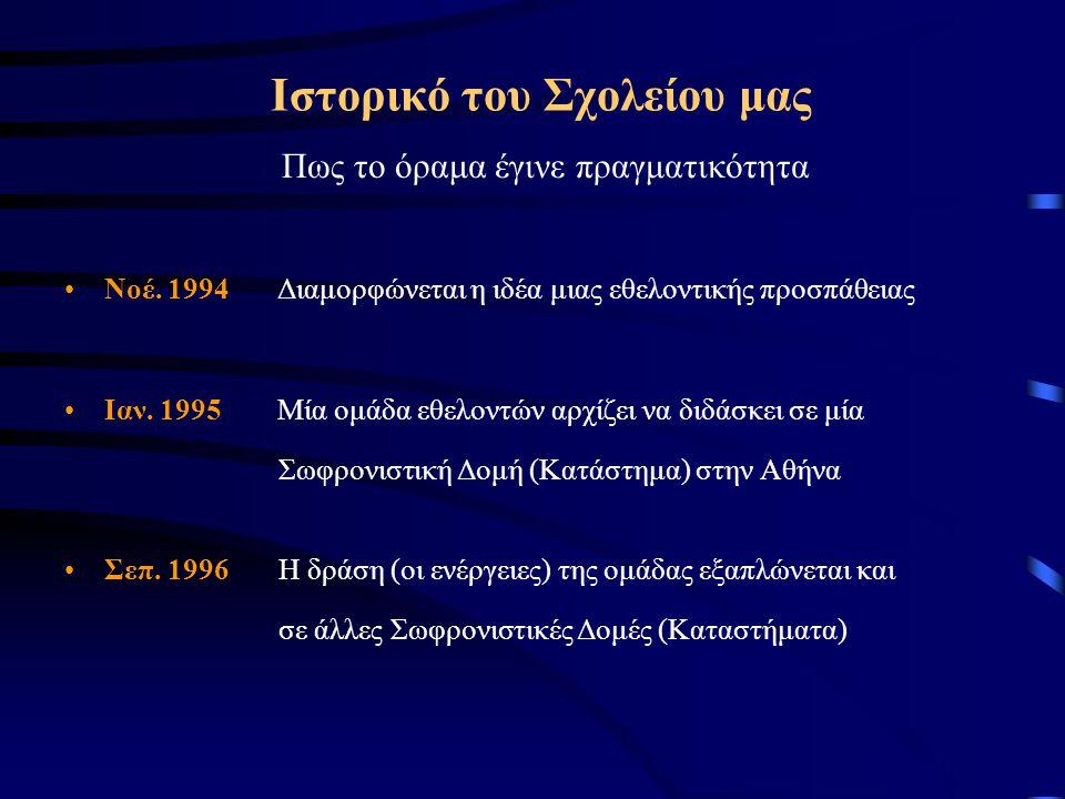 Ιστορικό του Σχολείου μας