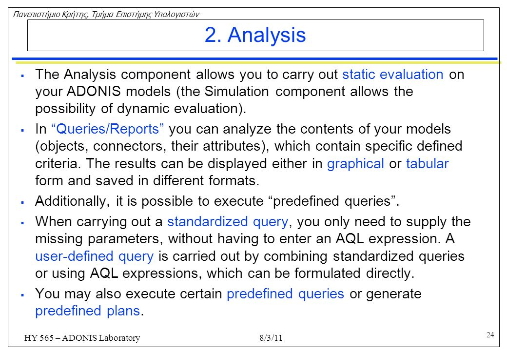 2. Analysis