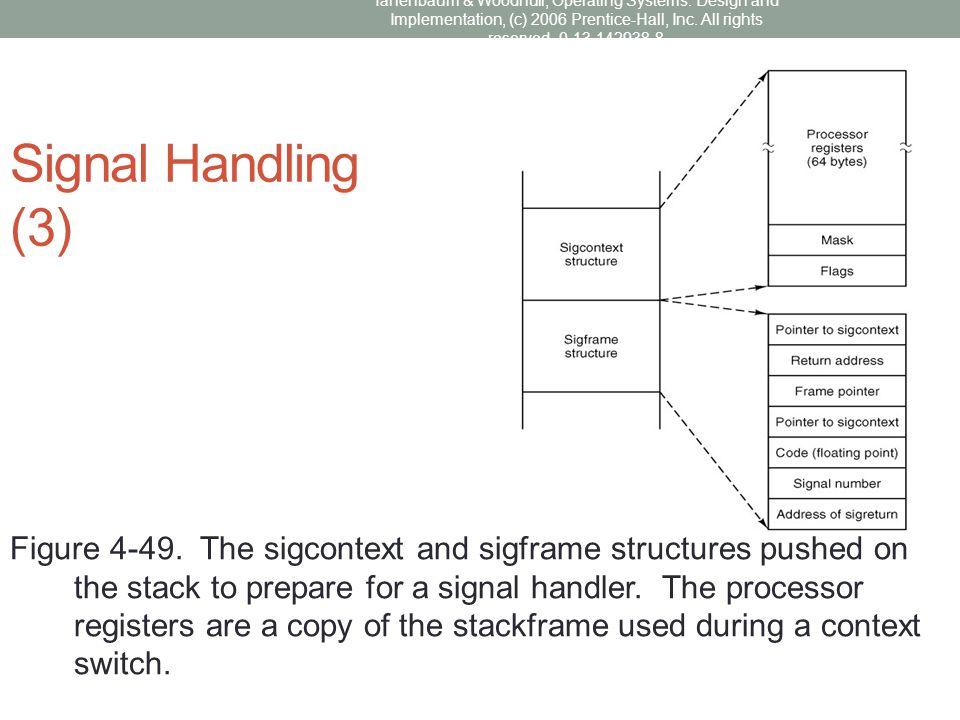 Signal Handling (3)