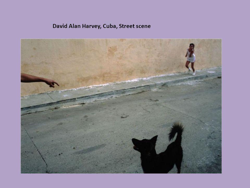 David Alan Harvey, Cuba, Street scene