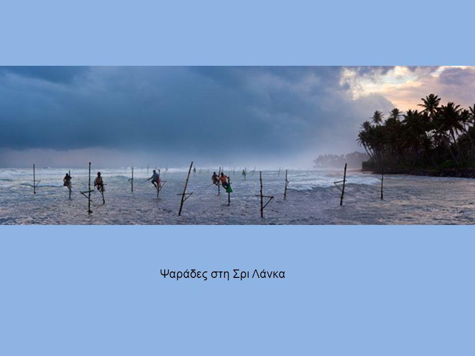 Ψαράδες στη Σρι Λάνκα