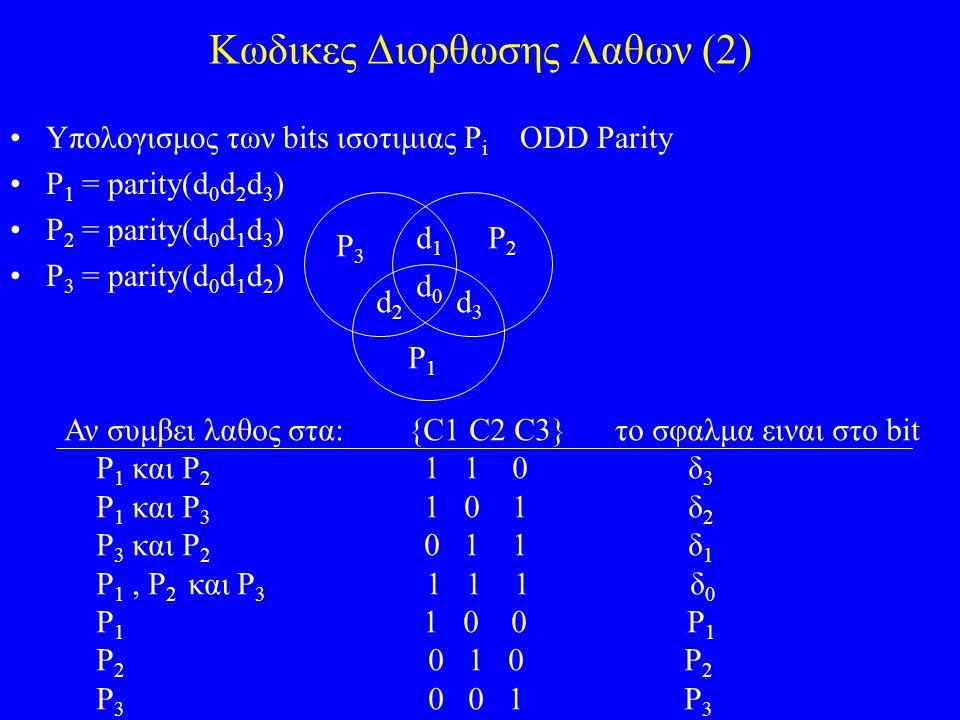 Κωδικες Διορθωσης Λαθων (2)
