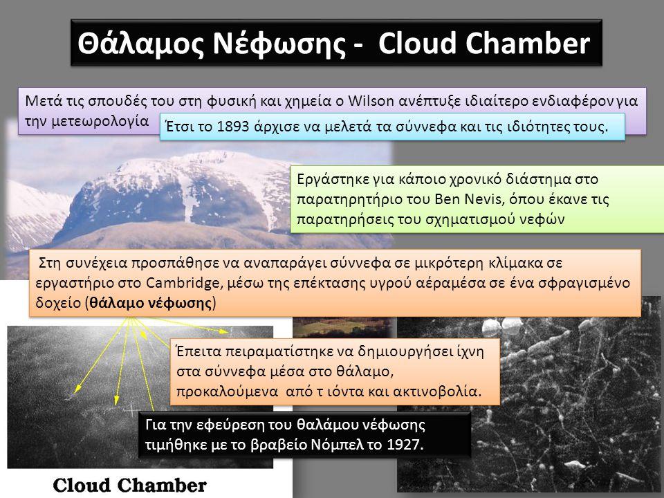Θάλαμος Νέφωσης - Cloud Chamber