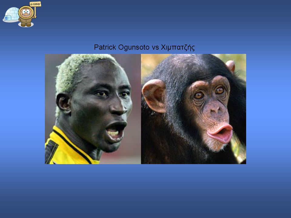 Patrick Ogunsoto vs Χιμπατζής