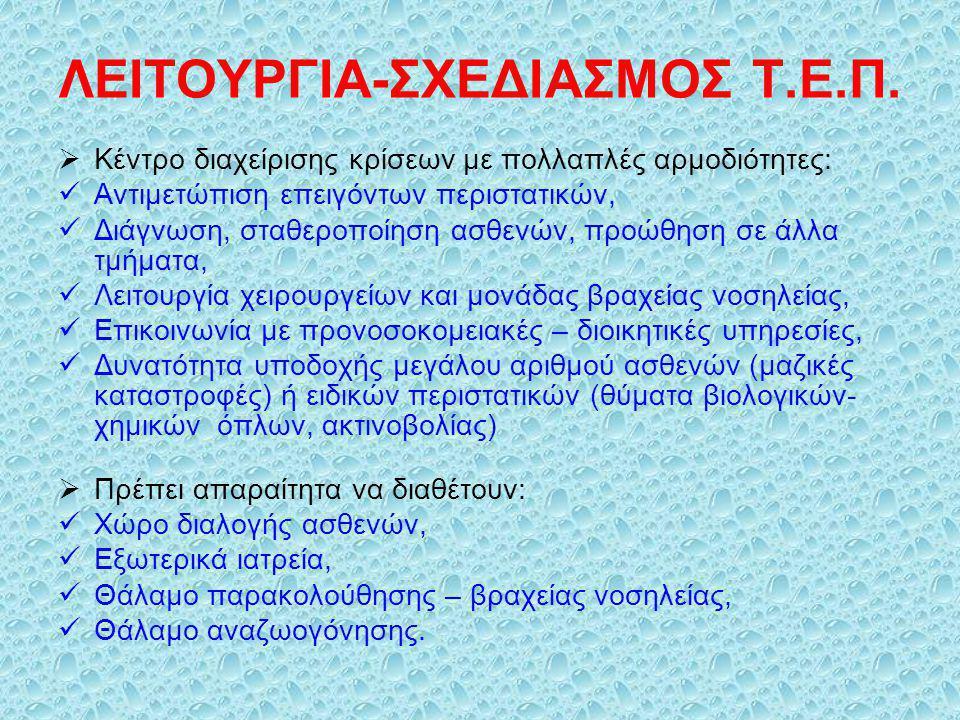 ΛΕΙΤΟΥΡΓΙΑ-ΣΧΕΔΙΑΣΜΟΣ Τ.Ε.Π.