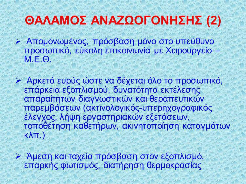 ΘΑΛΑΜΟΣ ΑΝΑΖΩΟΓΟΝΗΣΗΣ (2)