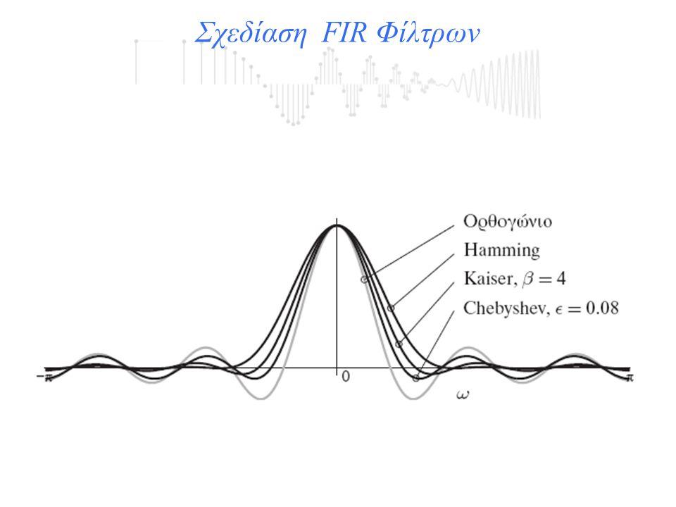 Σχεδίαση FIR Φίλτρων