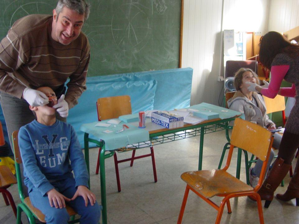 Επίσκεψη οδοντιάτρου στο σχολείο μας