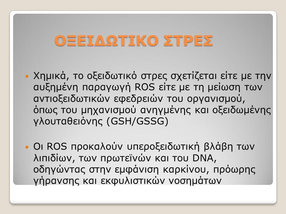 ΟΞΕΙΔΩΤΙΚΟ ΣΤΡΕΣ