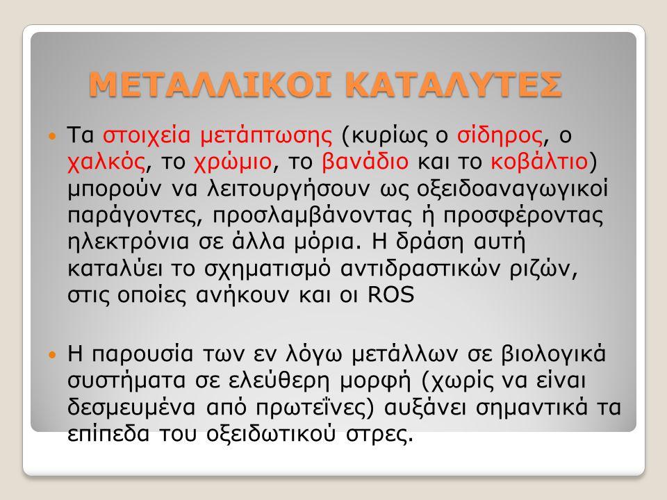ΜΕΤΑΛΛΙΚΟΙ ΚΑΤΑΛΥΤΕΣ