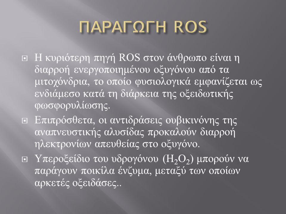 ΠΑΡΑΓΩΓΗ ROS