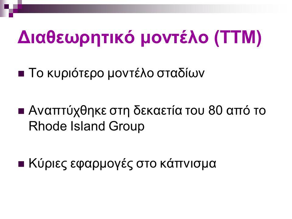 Διαθεωρητικό μοντέλο (ΤΤΜ)