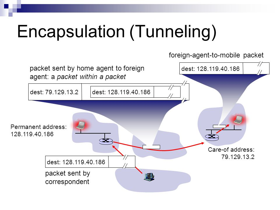 Encapsulation (Tunneling)