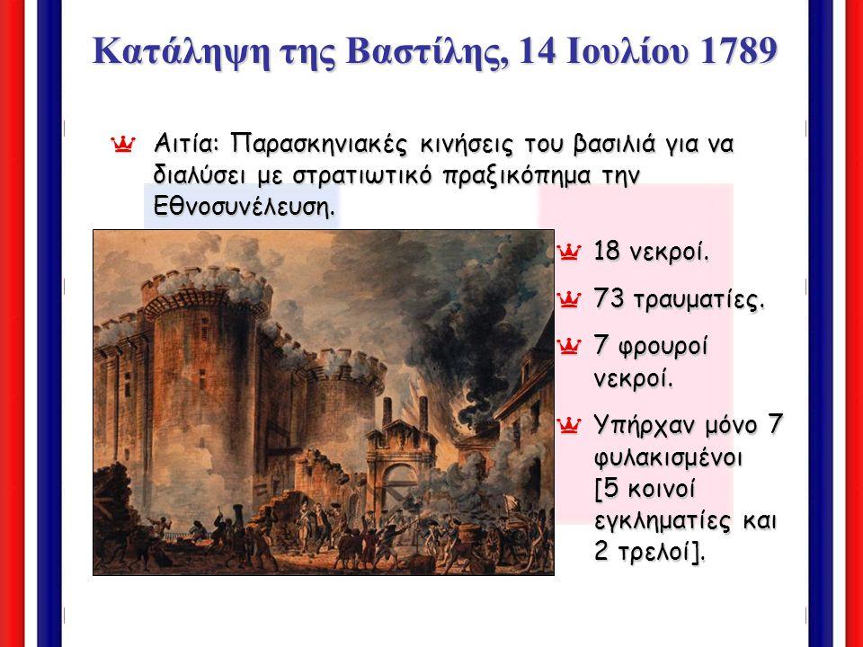 Κατάληψη της Βαστίλης, 14 Ιουλίου 1789