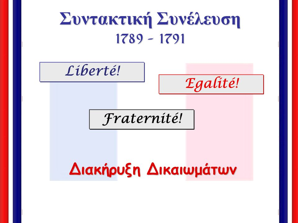 Συντακτική Συνέλευση 1789 - 1791