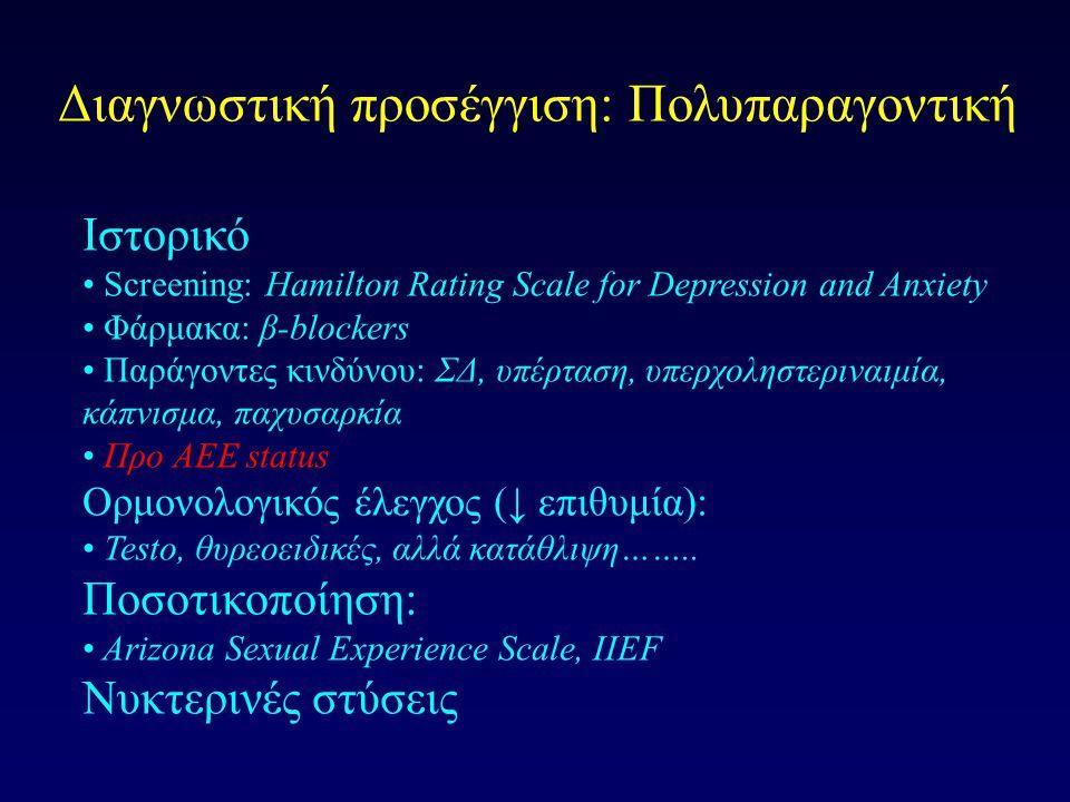 Διαγνωστική προσέγγιση: Πολυπαραγοντική