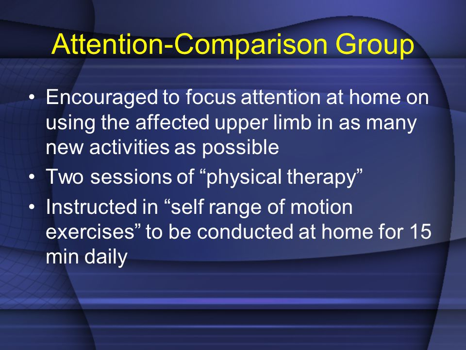 Attention-Comparison Group