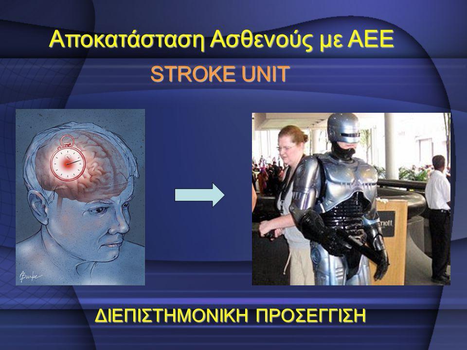 Αποκατάσταση Ασθενούς με ΑΕΕ
