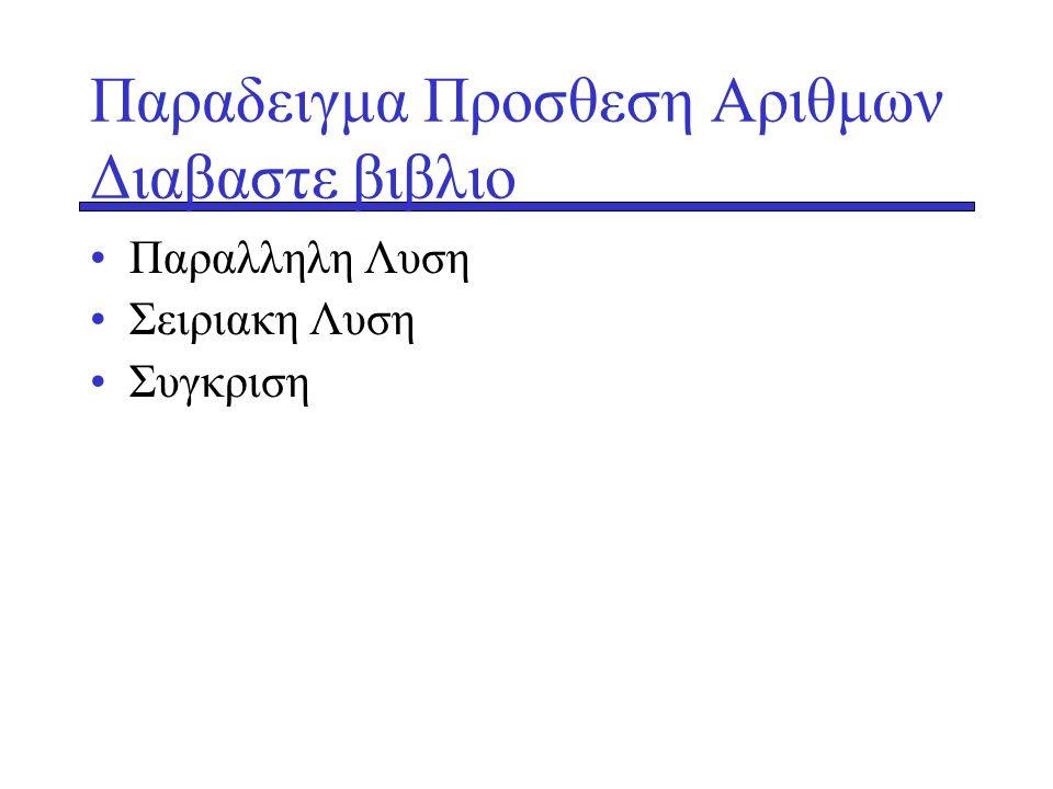 Παραδειγμα Προσθεση Αριθμων Διαβαστε βιβλιο