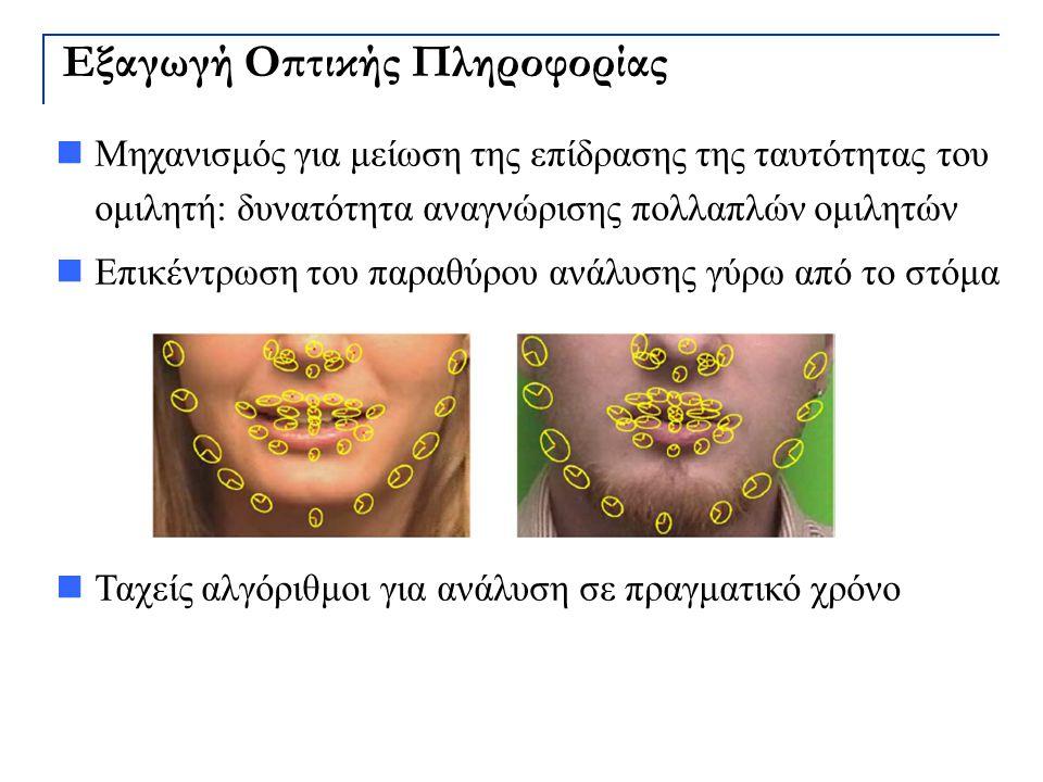Εξαγωγή Οπτικής Πληροφορίας