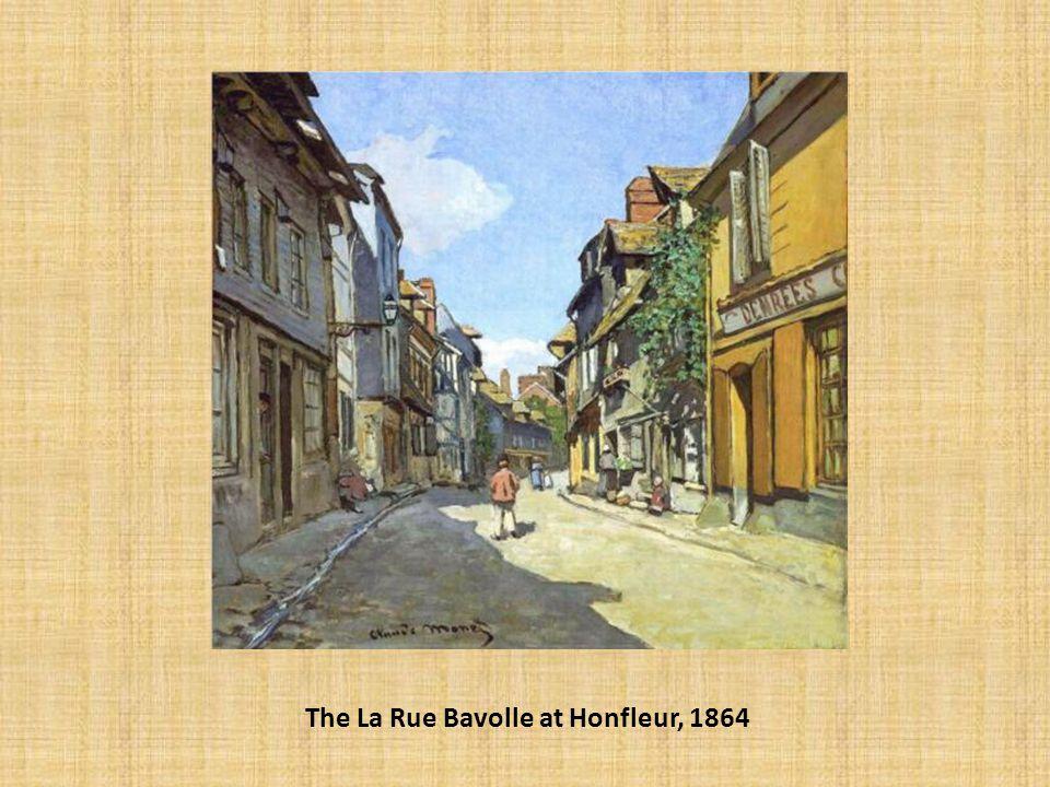 The La Rue Bavolle at Honfleur, 1864