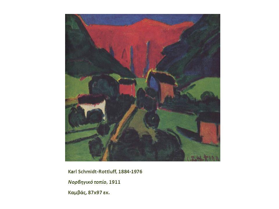 Karl Schmidt-Rottluff, 1884-1976