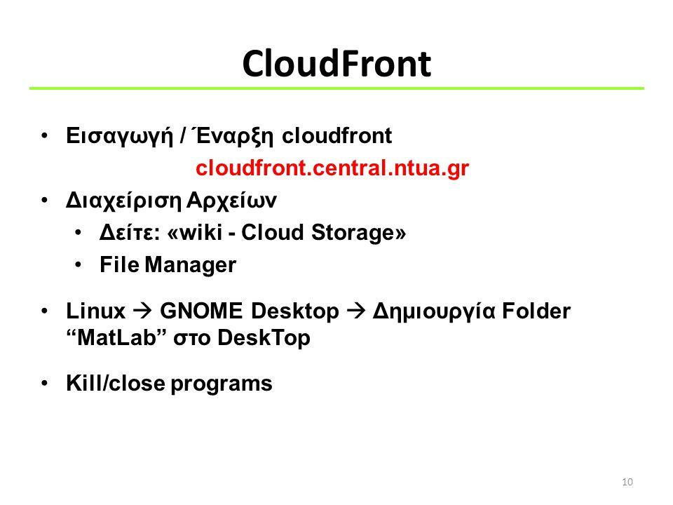 CloudFront Εισαγωγή / Έναρξη cloudfront cloudfront.central.ntua.gr