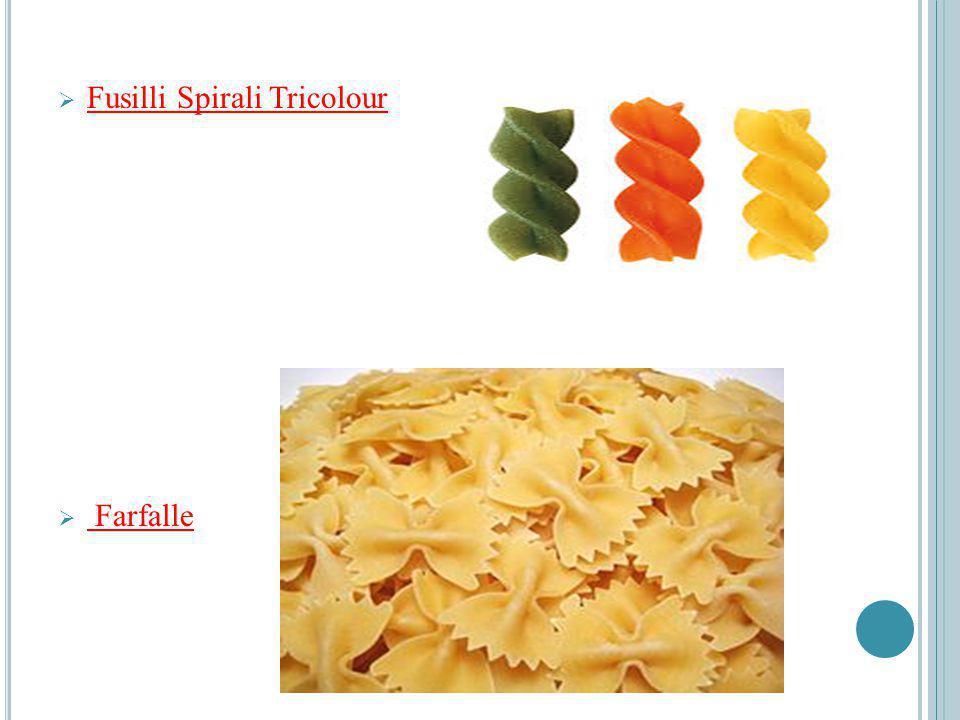 Fusilli Spirali Tricolour