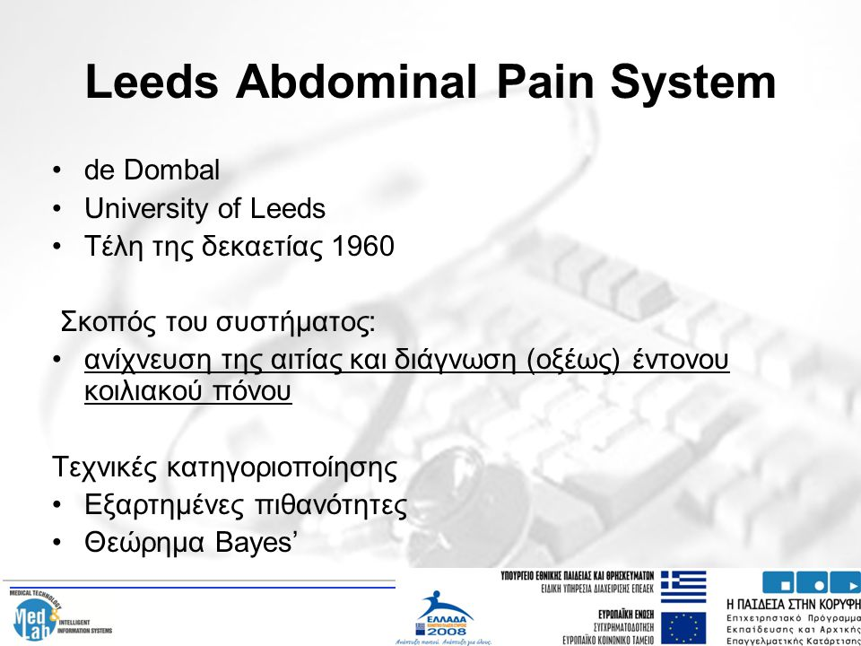 Leeds Abdominal Pain System