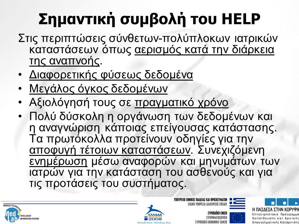 Σημαντική συμβολή του HELP
