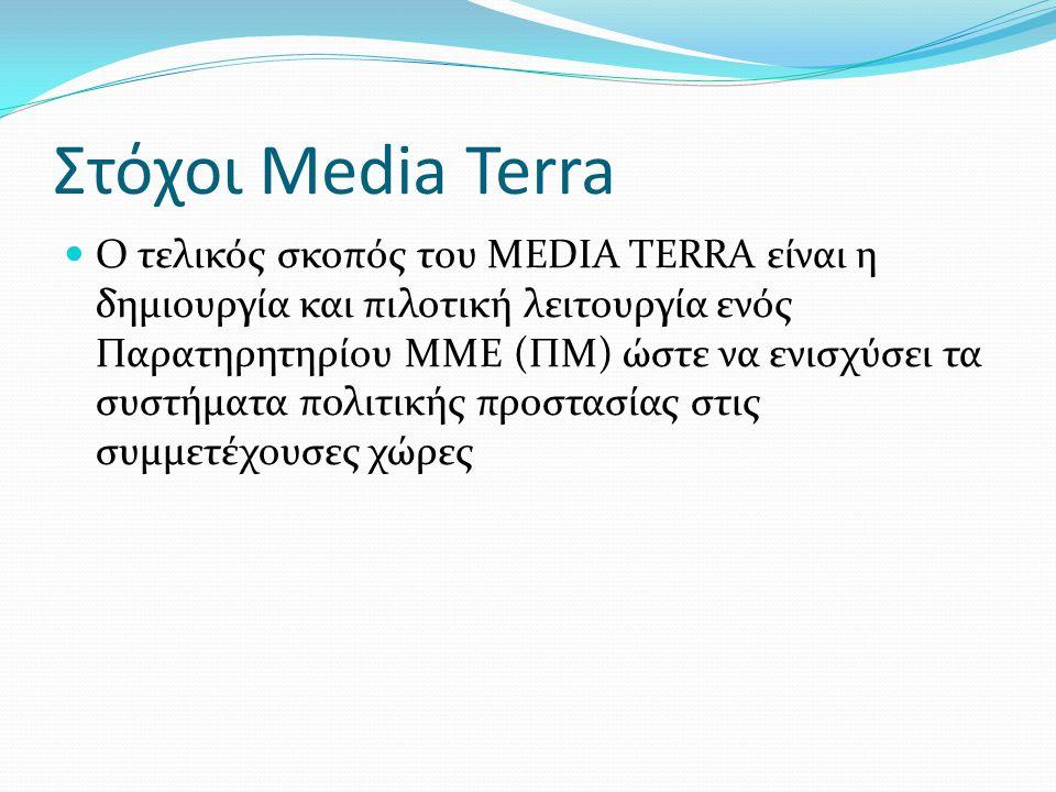 Στόχοι Media Terra