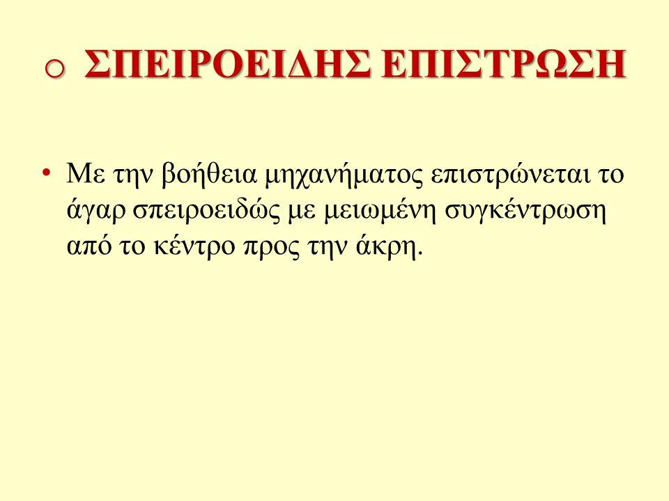 ΣΠΕΙΡΟΕΙΔΗΣ ΕΠΙΣΤΡΩΣΗ