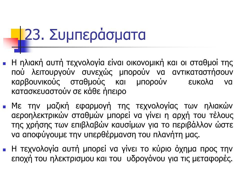 23. Συμπεράσματα