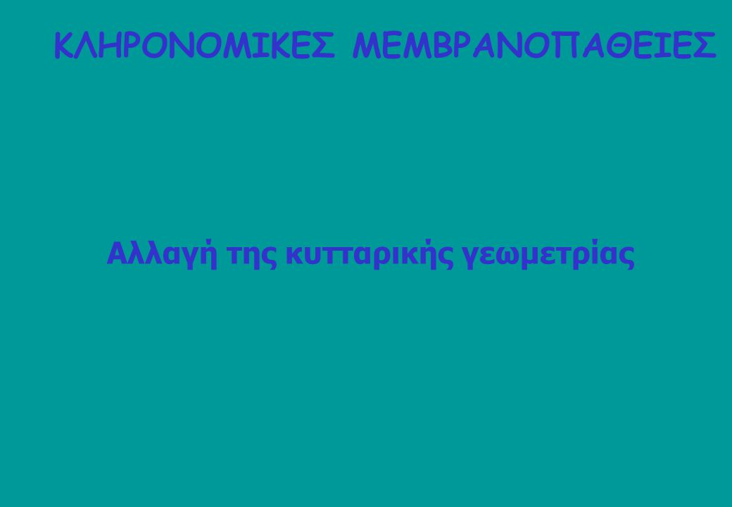 ΚΛΗΡΟΝΟΜΙΚΕΣ ΜΕΜΒΡΑΝΟΠΑΘΕΙΕΣ