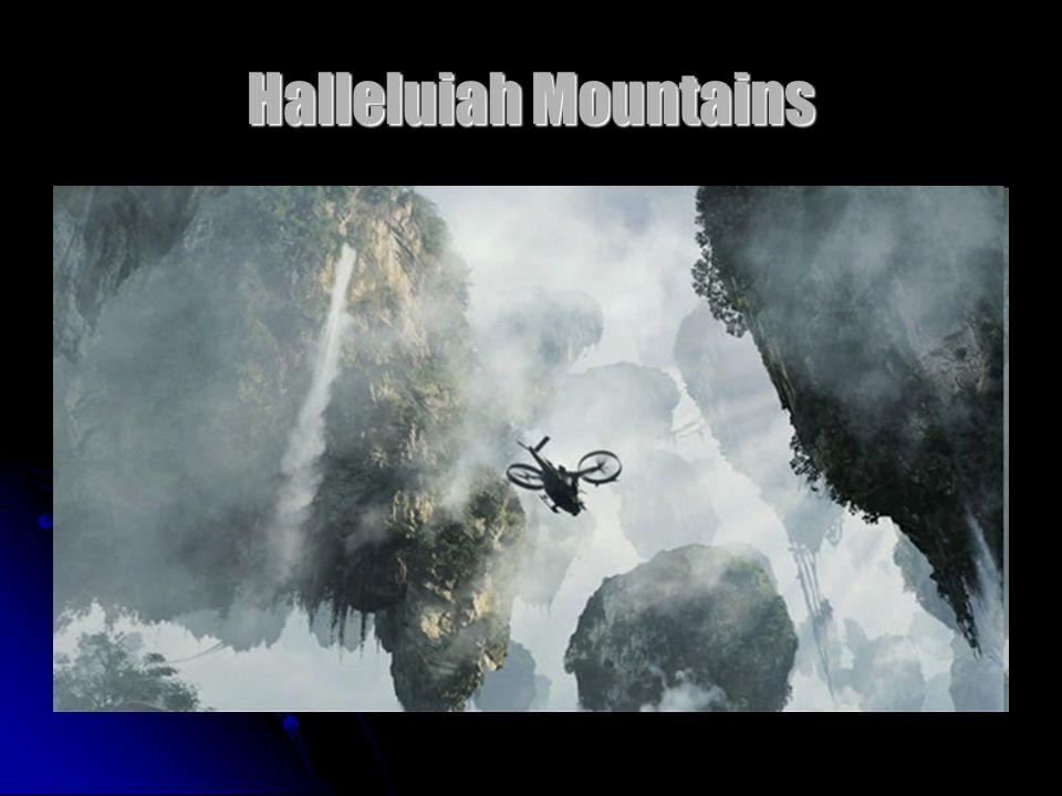 Halleluiah Mountains