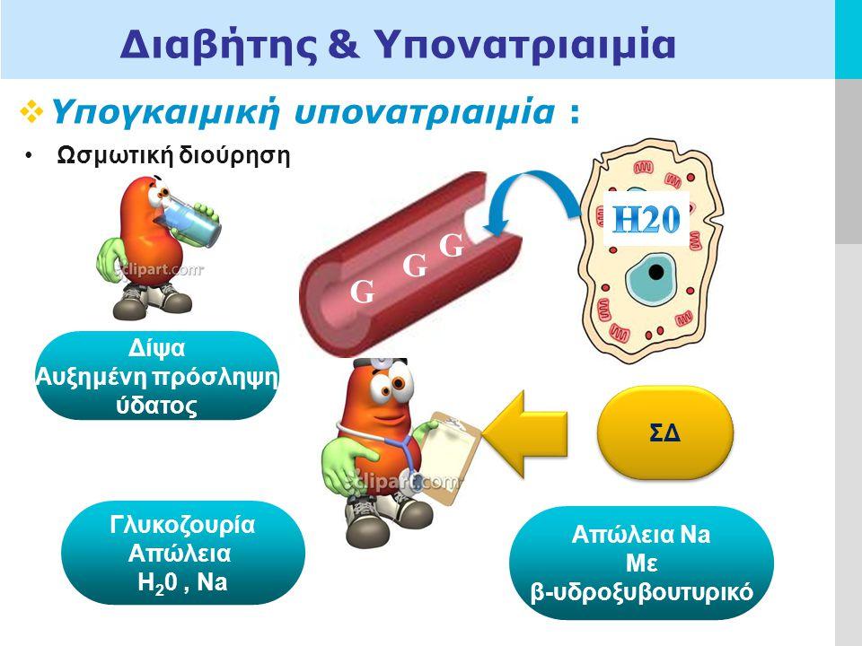 Διαβήτης & Υπονατριαιμία