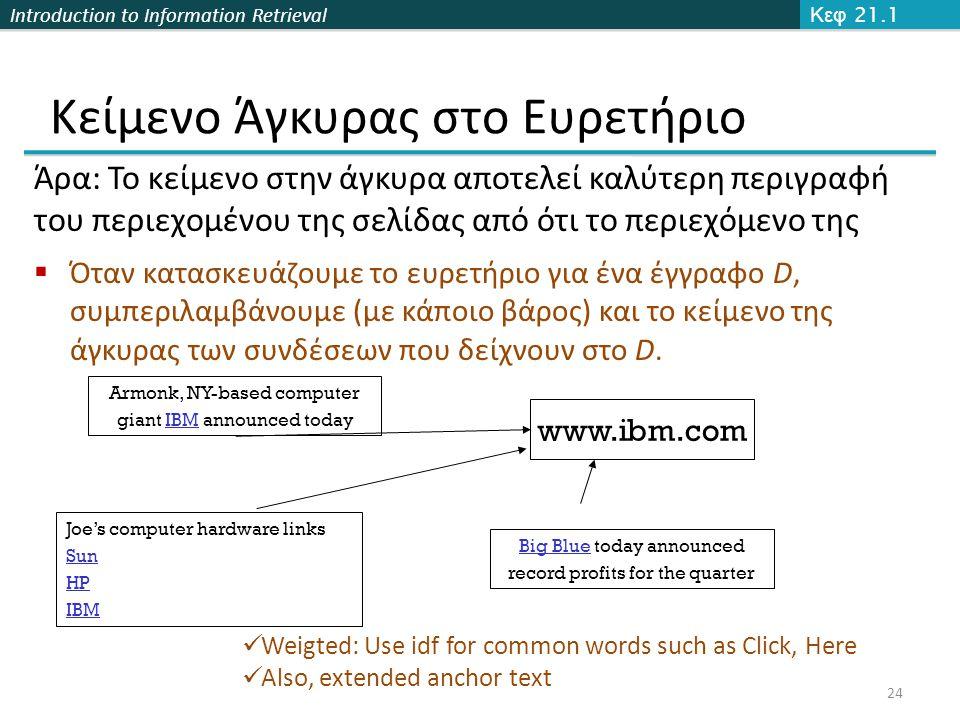 Κείμενο Άγκυρας στο Ευρετήριο