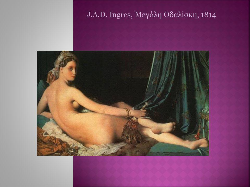 J.A.D. Ingres, Μεγάλη Οδαλίσκη, 1814