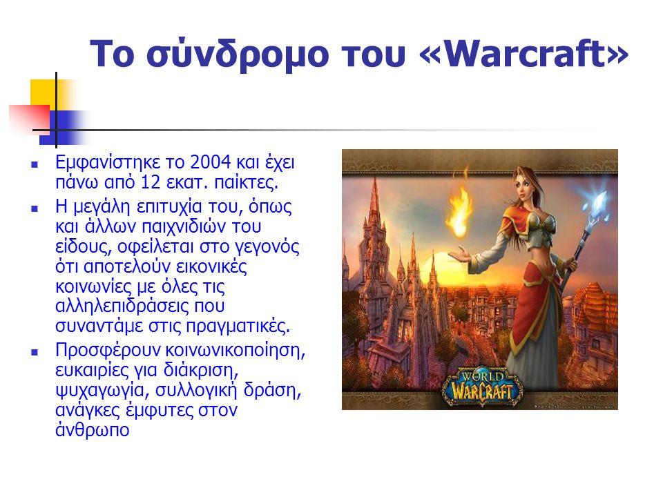 Το σύνδρομο του «Warcraft»