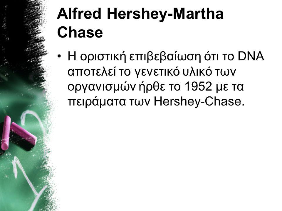 Alfred Hershey-Martha Chase