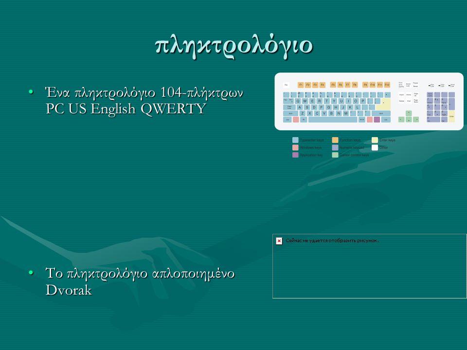 πληκτρολόγιο Ένα πληκτρολόγιο 104-πλήκτρων PC US English QWERTY